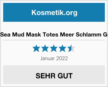 Vsadey Dead Sea Mud Mask Totes Meer Schlamm Gesichtsmaske Test