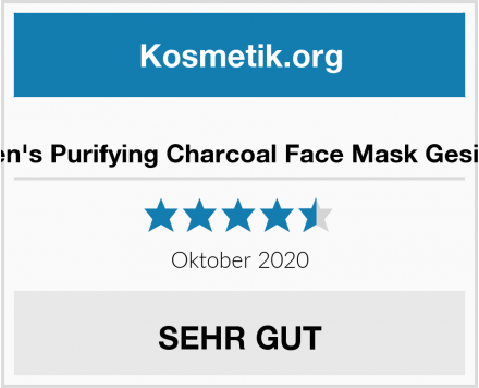 Brickell Men's Purifying Charcoal Face Mask Gesichtsmaske Test