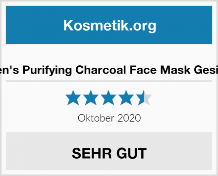 Brickell Men's Purifying Charcoal Face Mask Gesichtsmaske Test
