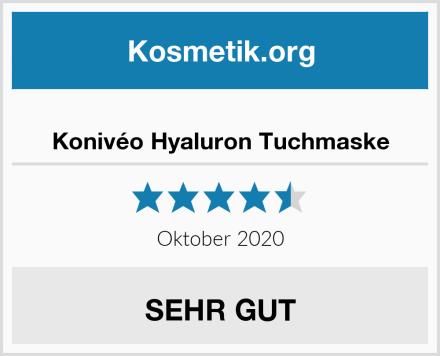 Konivéo Hyaluron Tuchmaske Test