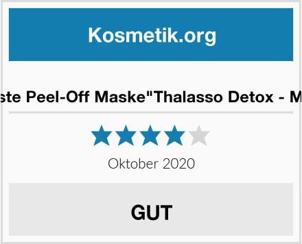 """puremetics Zero Waste Peel-Off Maske""""Thalasso Detox - Mit Ginkgo & Grüntee"""" Test"""