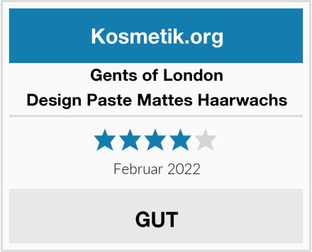 Gents of London Design Paste Mattes Haarwachs Test