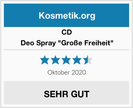 "CD Deo Spray ""Große Freiheit"" Test"