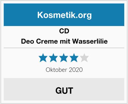 CD Deo Creme mit Wasserlilie Test