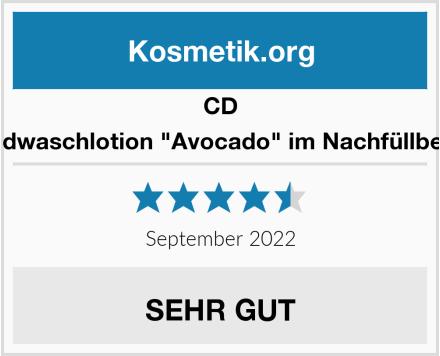 """CD Handwaschlotion """"Avocado"""" im Nachfüllbeutel Test"""