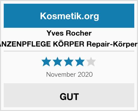 Yves Rocher PFLANZENPFLEGE KÖRPER Repair-Körpermilch Test