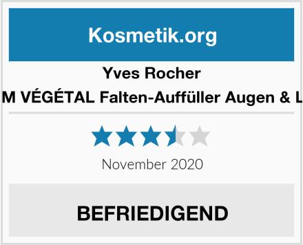 Yves Rocher SÉRUM VÉGÉTAL Falten-Auffüller Augen & Lippen Test
