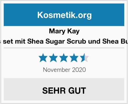 Mary Kay Satin Lips set mit Shea Sugar Scrub und Shea Butter Balm Test