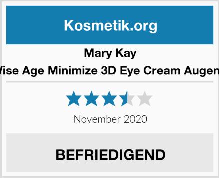 Mary Kay TimeWise Age Minimize 3D Eye Cream Augencreme Test