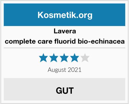 Lavera complete care fluorid bio-echinacea Test