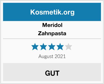 Meridol Zahnpasta Test