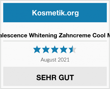 Opalescence Whitening Zahncreme Cool Mint Test