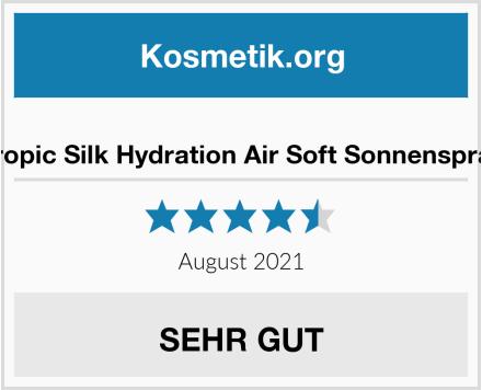 Tropic Silk Hydration Air Soft Sonnenspray Test