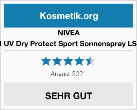 NIVEA SUN UV Dry Protect Sport Sonnenspray LSF 50 Test
