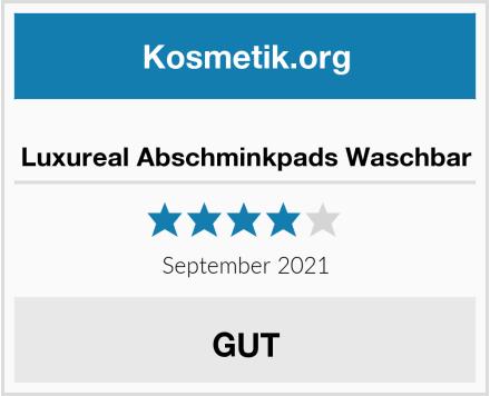 Luxureal Abschminkpads Waschbar Test
