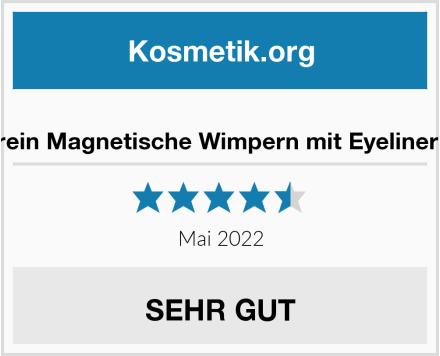 Berein Magnetische Wimpern mit Eyeliner Kit Test