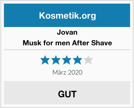 Jovan Musk for men After Shave Test