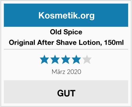Old Spice Original After Shave Lotion, 150ml Test