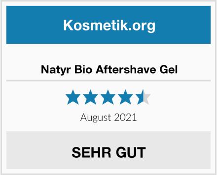 Natyr Bio Aftershave Gel Test