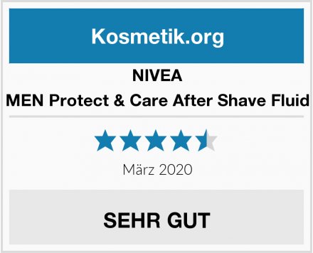 NIVEA MEN Protect & Care After Shave Fluid Test