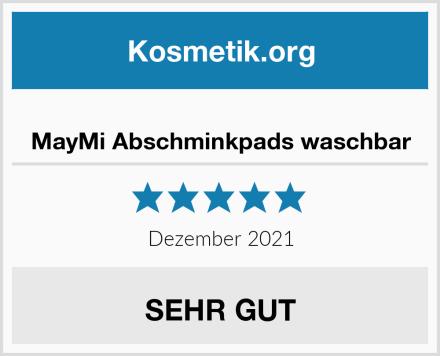 MayMi Abschminkpads waschbar Test