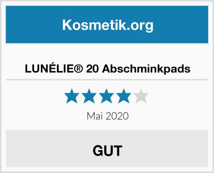 LUNÉLIE® 20 Abschminkpads Test