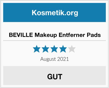 BEVILLE Makeup Entferner Pads Test