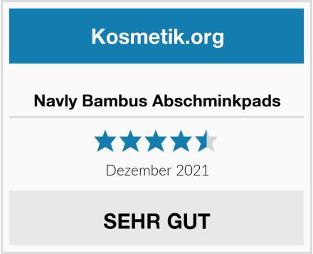 Navly Bambus Abschminkpads Test