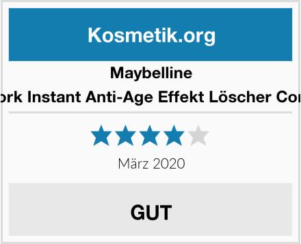 Maybelline New York Instant Anti-Age Effekt Löscher Concealer Test