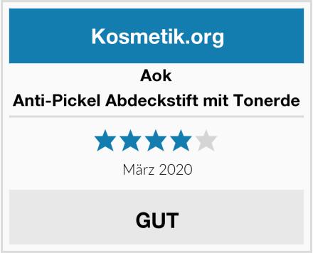 Aok Anti-Pickel Abdeckstift mit Tonerde Test
