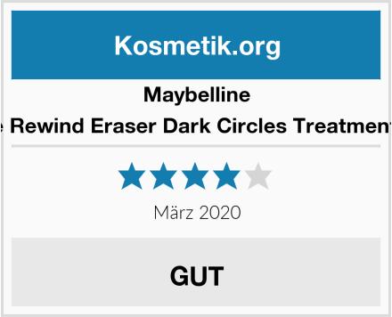 Maybelline Instant Age Rewind Eraser Dark Circles Treatment Concealer Test