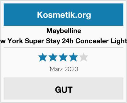 Maybelline New York Super Stay 24h Concealer Light 02 Test