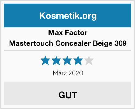 Max Factor Mastertouch Concealer Beige 309 Test