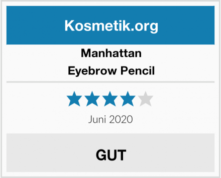 Manhattan Eyebrow Pencil Test