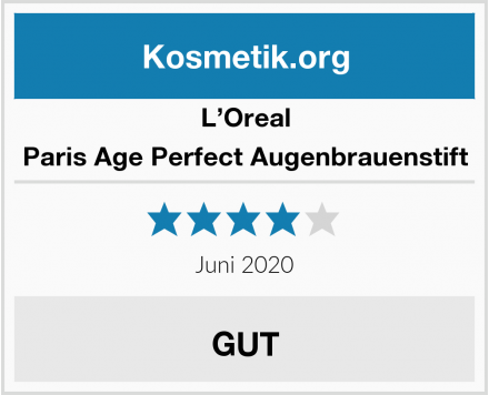 L'Oreal Paris Age Perfect Augenbrauenstift Test