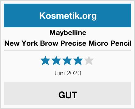 Maybelline New York Brow Precise Micro Pencil Test