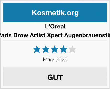 L'Oreal Paris Brow Artist Xpert Augenbrauenstift Test