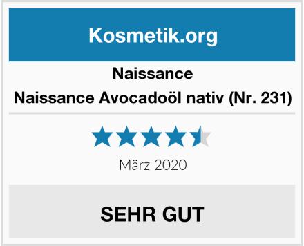 Naissance Naissance Avocadoöl nativ (Nr. 231) Test