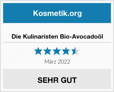 Die Kulinaristen Bio-Avocadoöl Test