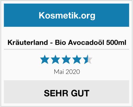 Kräuterland - Bio Avocadoöl 500ml Test