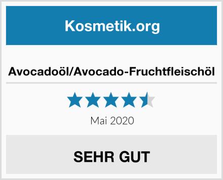 Avocadoöl/Avocado-Fruchtfleischöl Test