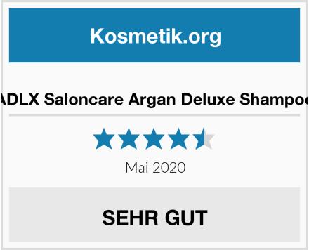 ADLX Saloncare Argan Deluxe Shampoo Test