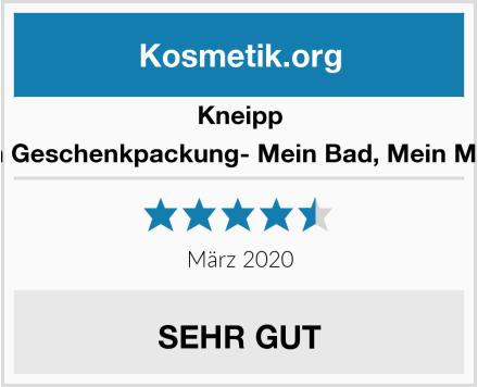 Kneipp Baden Geschenkpackung- Mein Bad, Mein Moment Test