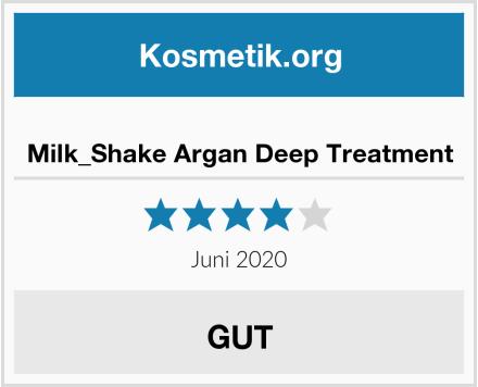 Milk_Shake Argan Deep Treatment Test