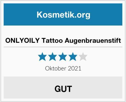 ONLYOILY Tattoo Augenbrauenstift Test