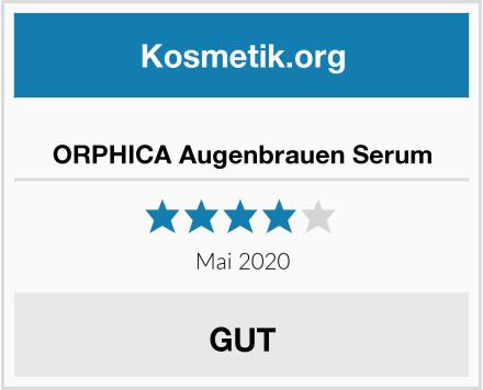 ORPHICA Augenbrauen Serum Test