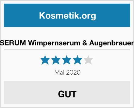 EOXX SERUM Wimpernserum & Augenbrauenserum Test