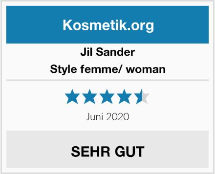 Jil Sander Style femme/ woman Test