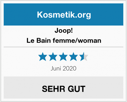Joop! Le Bain femme/woman Test