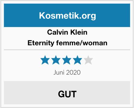Calvin Klein Eternity femme/woman Test